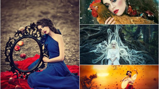 (foto) Proiect fotografic de basm de la artista rusă Margarita Kareva