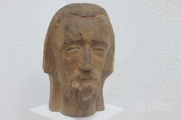 """Sculptura """"Vecin"""", Gheorghe Gheorghiță Vornicu"""