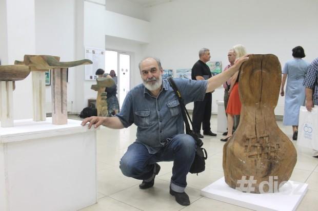 Sculptorul Gheorghe Gheorghiță Vornicu