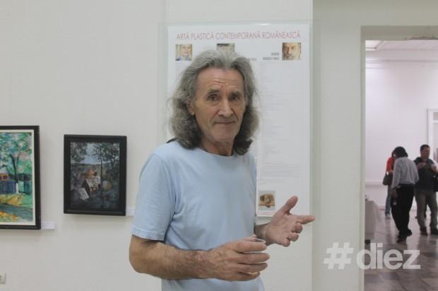 Tudor Braga, critic de artă, membru al Uniunii Artiștilor Plastici