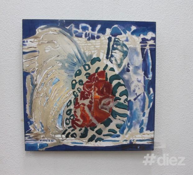 """Pictura """"Ritmuri condiționate"""", Maria Boz"""
