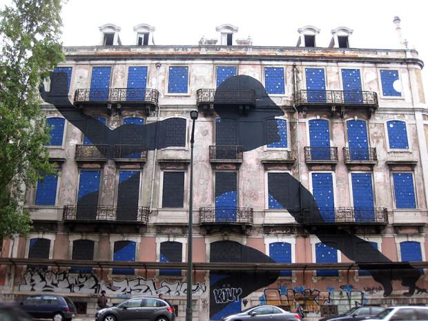 Arta stradală din Portugalia, Lisabona PC: earthporm.com
