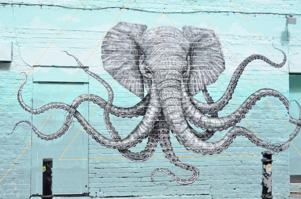 Artă stradală din Marea Britanie, Londra PC: earthporm.com