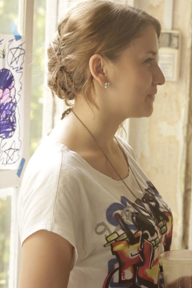 Iulia Brad, blogger, oaspete al evenimentului