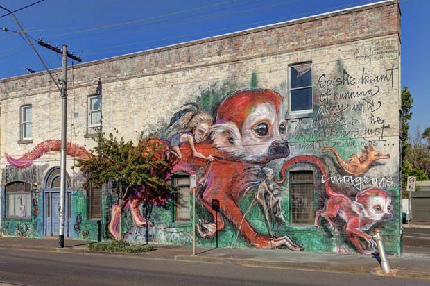 Arta stradală din Australia, Melbourne PC:earthporm.com