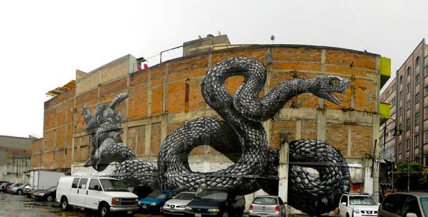 Artă stradală din Ciudad de México PC: earthporm.com