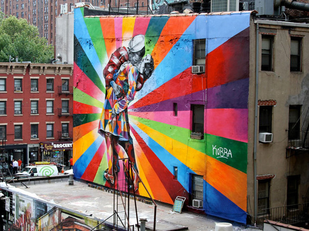 Arta stradală din SUA, New York City PC: earthporm.com