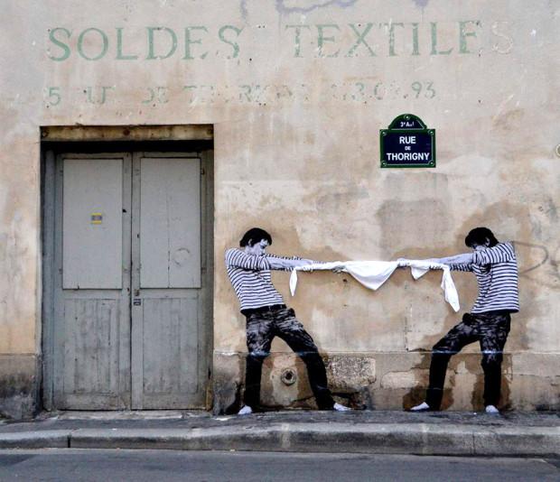 Arta stradală din Franța, Paris PC: earthporm.com