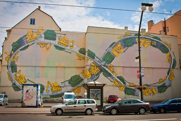 Arta stradală din Republica Cehă, Praga PC: earthporm.com
