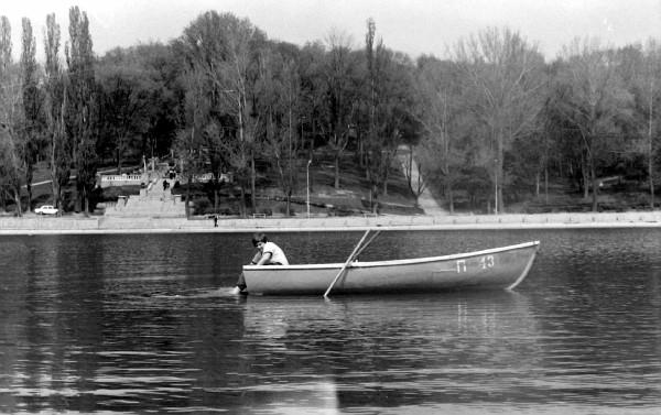 Lacul Comsomolist din parcul Valea Morilor. PC: ecology.md