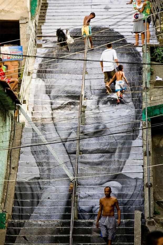 Arta stradală din Brazilia, Rio De Janeiro PC: earthporm.com