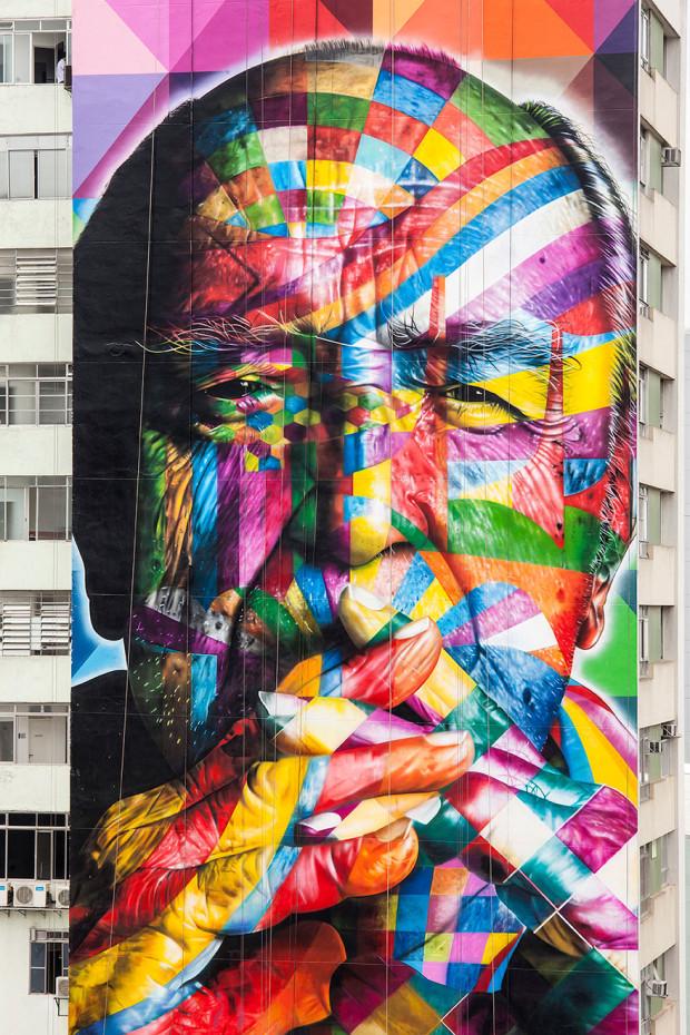 Arta stradală din Brazilia, São Paulo PC: earthporm.com