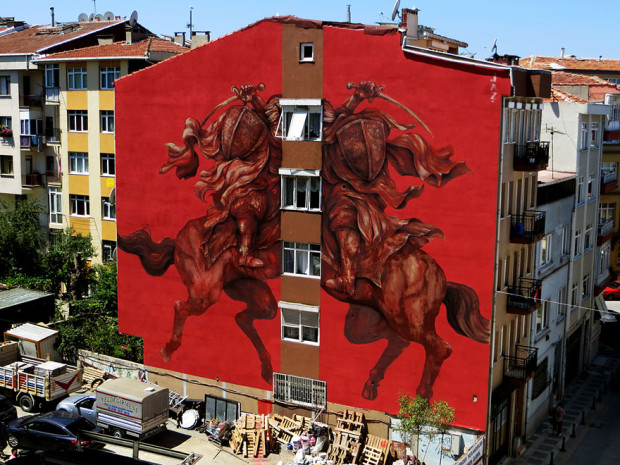 Arta stradală din Turcia, Istambul PC: earthporm.com