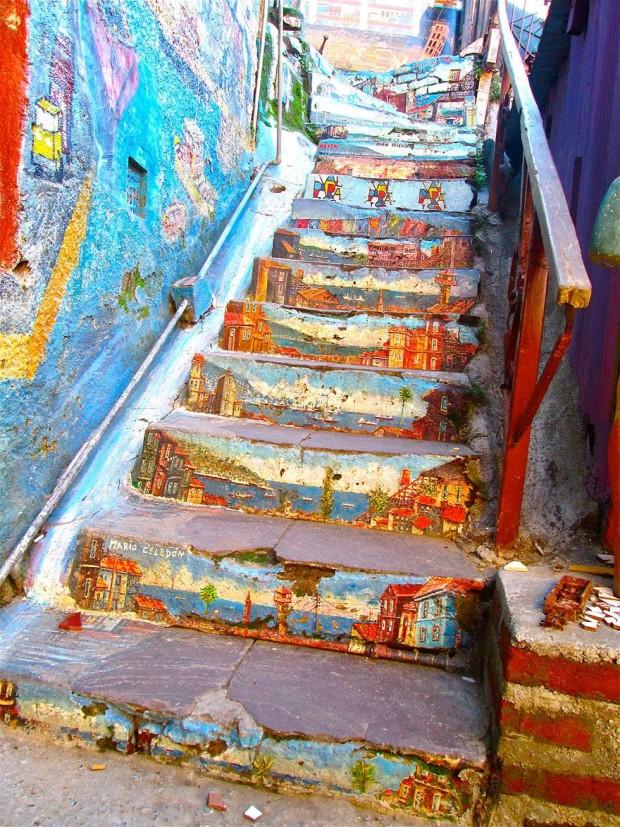 Arta stradală din Chile, Valparaiso PC: earthporm.com
