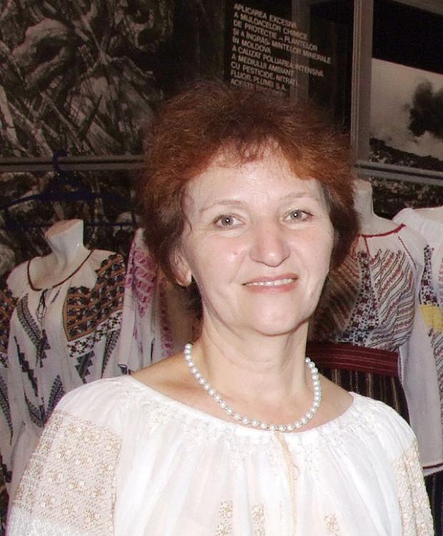 Varvara Buzilă, secretar științific la Muzeul Național de Etnografie și Istorie Naturală. PC: wikipedia.org