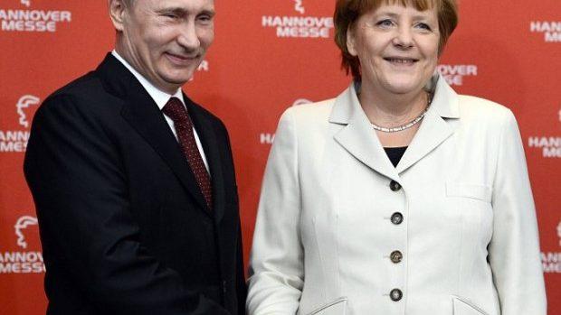 Putin şi Merkel se vor întâlni la finala Campionatului Mondial de fotbal