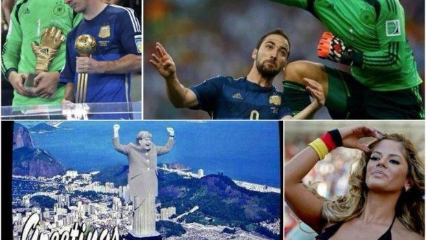 (foto) Meme-uri și momentele de glorie ale finalei Campionatului Mondial 2014