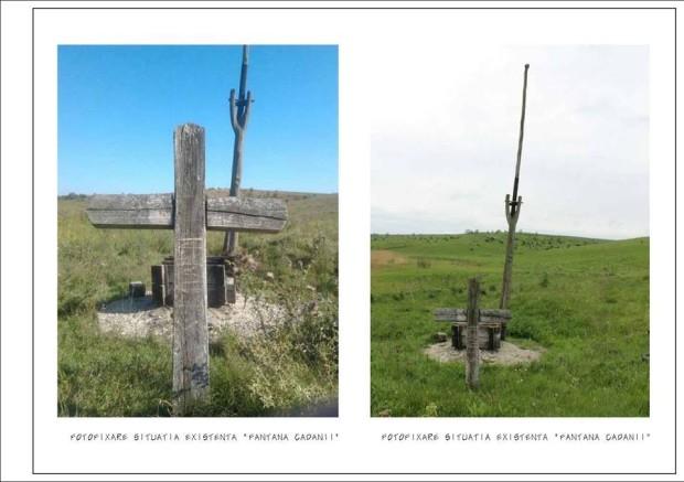 Fântâna Cadânei la momentul actual, Agentia de Inspectare si Restaurare a Monumentelor din Republica Moldova