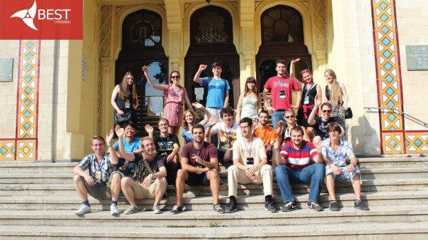 Studenții europeni au luat lecții de IT management de la profesioniștii moldoveni