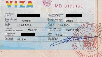 Din 1 august străinii care vin în Moldova vor putea solicita online viza de scurtă ședere