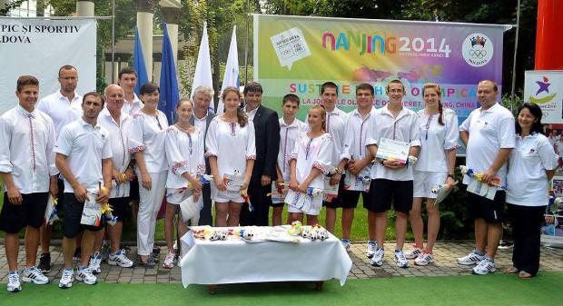 Sportivii noștri vor reprezenta Moldova în ii la Jocurile Olimpice pentru tineret