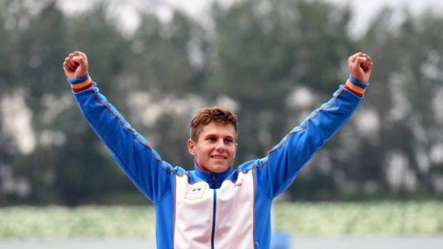 (foto) Aur pentru Moldova la proba de kaiac-canoe la Jocurile Olimpice de la Nanjing