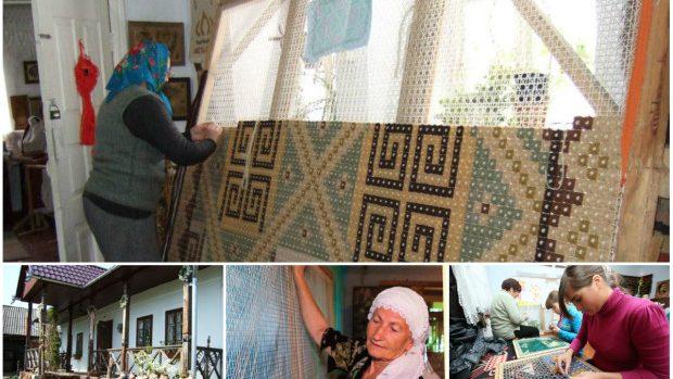 (foto, video) Covorul în bumbi – patrimoniul moldovenesc reînviat la Călărași și apreciat în întreaga lume
