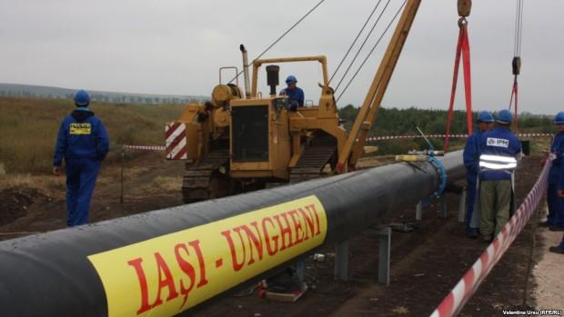 Gazoductul Iași – Ungheni va fi inaugurat pe 27 august, de ziua Independenței