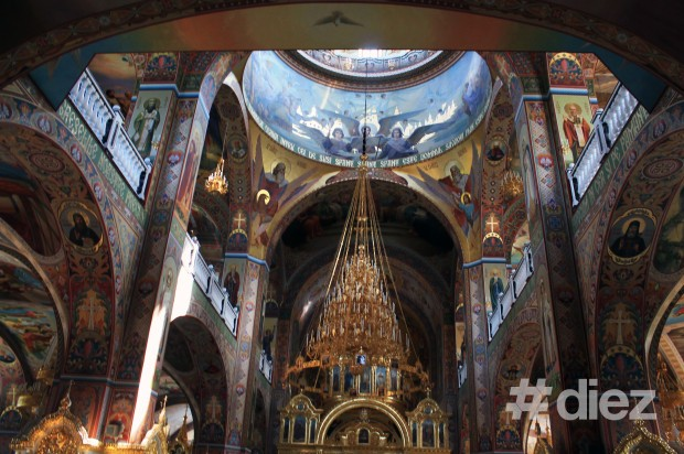 Ea a fost pictată de zugravi români, ucraineni, bulgari etc.