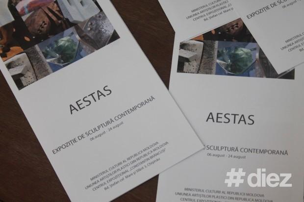 """Expoziția de sculptură contemporană """"Aestas"""""""