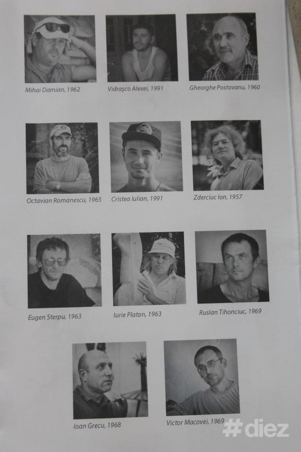 Sculptorii participanți