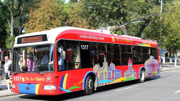 (foto) S-a inaugurat primul Troleibuz Turistic din Chișinău