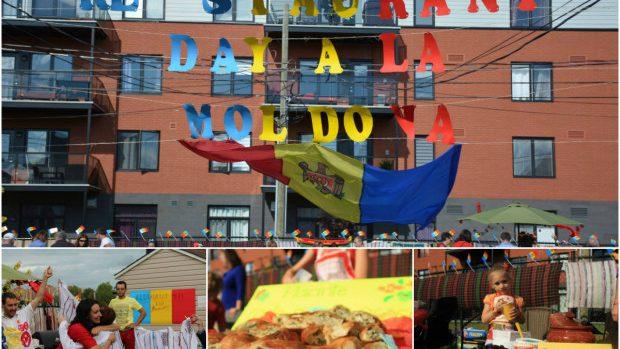 (foto) Cu ce s-au răsfățat moldovenii din Canada la Restaurant Day à la Moldova acasă la Nata Albot