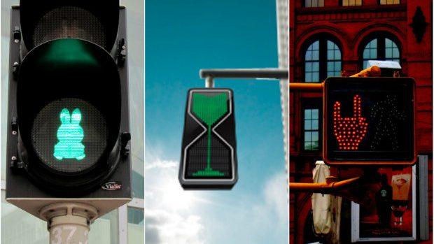 (foto) Cele mai creative 11 semafoare din lume