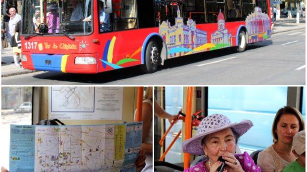 Duminică poți face un tur al orașului cu Troleibuzul Turistic