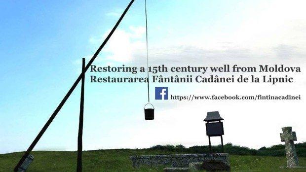 Lucrările de reconstrucție a Fântânei Cadânei demarează în această săptămână