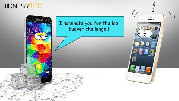 Samsung vs iPhone PC: Twitter/Instagram/Facebook