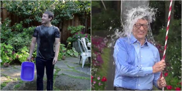 (video) Leapșa cu apă rece: Mark Zuckerberg și Bill Gates au acceptat provocarea