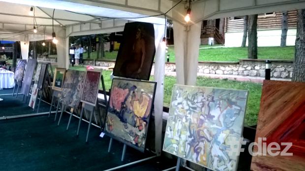 Tablourile tinerilor artiști din Moldova