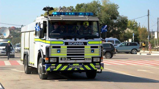 (foto) Marea Britanie a donat autospeciale noi pentru pompierii moldoveni