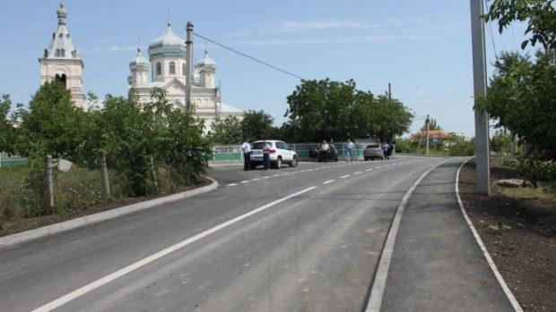(foto) În raionul Ungheni a fost inaugurat un nou drum