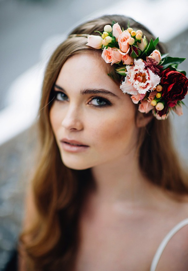 Coronite din flori De pus pe cap
