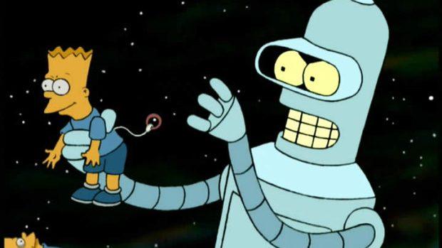 The Simpsons și Futurama vor avea un episod comun