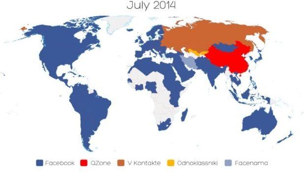 Facebook a întrecut Odnoklassniki în Moldova