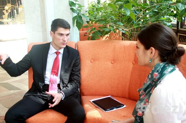 Andrei Iovu, cercetător. @Palatul Republicii
