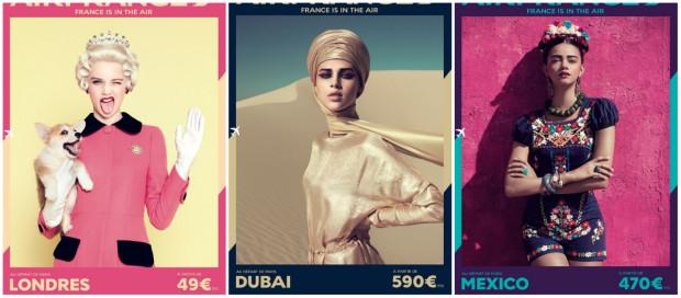 (foto) Air France a lansat o nouă campanie publicitară super glamorous
