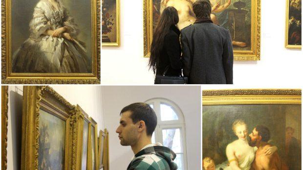 (foto) Pictura Universală expusă la Muzeul Național de Artă