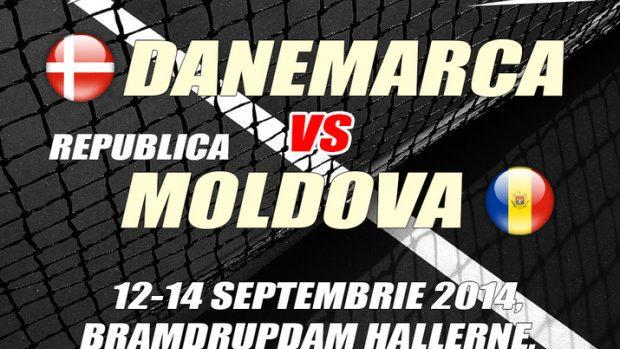 Cupa Davis: Şansele Moldovei în duelul cu Danemarca