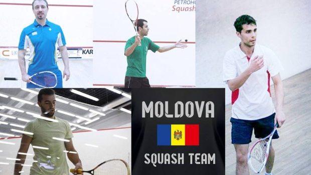 (foto) Selecționata Moldovei de Squash a obținut 2 victorii la Campionatul Balcanic