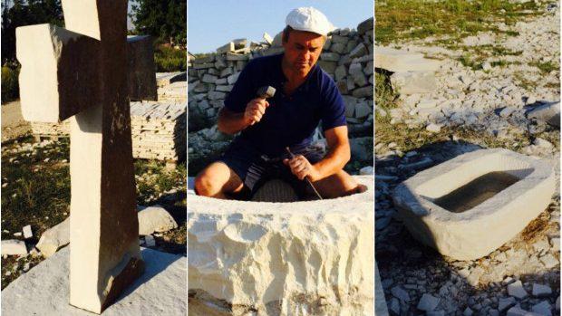 (foto) Piesele pentru reconstrucția Fântânei Cadânei sunt aproape finisate